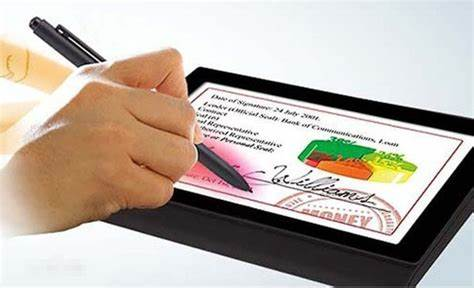 Validity and enforceability of Electronic and Digital Signatures